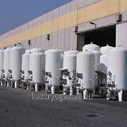 Жидкий криогенный газ фото