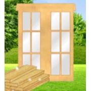 Евроокна деревянные, дверные блоки,лестницы, доска фото