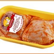 Бедро цыпленка-бройлера замороженное в маринаде фото