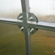 Теплица из стальной трубы 8x3x2 Крабовое соединени фото