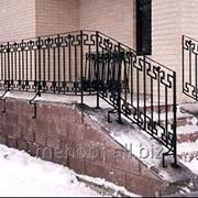 Кованые лестницы на заказ фото