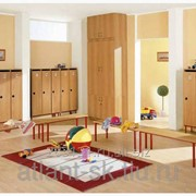 Шкафчик для раздевалки для детского сада фото