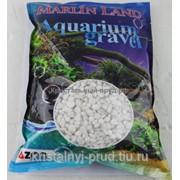 Грунт для аквариума белесый 1-1,2см (3кг)