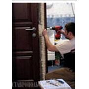 Установка дверей фото
