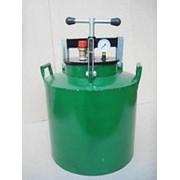Автоклав домашний Зеленый газовый средний (винт) на 24 банок по 0,5 л/на 16 банок по 1 л DI фото