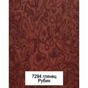 Кухонный пластиковый фасад 7294 рубин фото