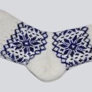 Носки шерстяные, женские фото