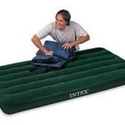 Матрас Downy Bed, 99х191х22см, со встроенным ножным насосом (Intex) фото