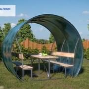 Беседка садовая Агросфера-Пион 2 метра + мангал фото