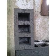 Шлакоблоки вибропрессованные 390х190х190, Блоки строительные, Шлакоблоки фундаментные, Доставка по договоренности или самовывоз фото