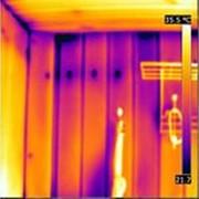 Тепловизионное обследование бани с полным отчетом фото