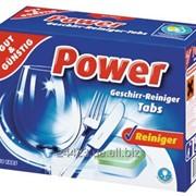Таблетки для посудомоечной машины POWER 60 шт фото