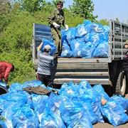 Вывоз и уборка мусора. фото