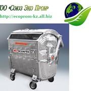 Баки для мусора, мусорные контейнеры в Казахстане фото