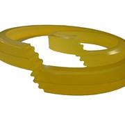 Полиуретановая манжета уплотнительная для штока 125-145-12/13 фото