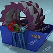 Вращающаяся моечная машина для руды XLZ-914 фото