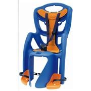 Велосипедное детское кресло Bellelli Pepe Clamp, цвет: синее фото