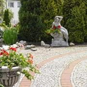 Парковая скульптура Дама фото