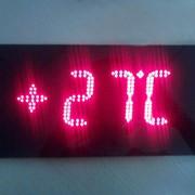 Термометры цифровые электрические светодиодные «Standing Term» фото