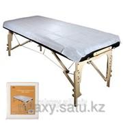Комплект одноразовых простыней для массажных столов фото