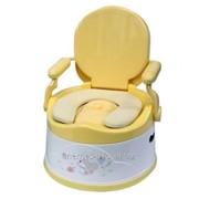 Детский горшок Liko Baby желтый / белый фото