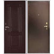 Дверь стальная Триумф венге фото