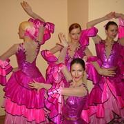 Костюм сценический танцевальный женский фото