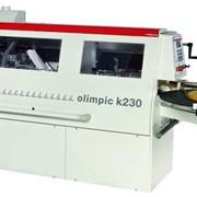 Компактный автоматический кромкооблицовочный станок OLIMPIC K 230А фото