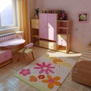 Мебель для девочки из наборного массива бука фото