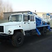 \Автогидроподъемник ВИПО-24-01 на шасси ГАЗ-3309 (4х2) 5м. кабина фото