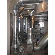 Установка системы вентиляции фото