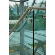 Стеклянные ограждения лестниц фото