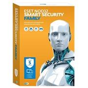 Новинка! ESET NOD32 Smart Security Family (5 устройств, 1 год ) фото