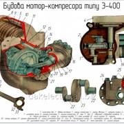 Ремонт залізничних компресорів типу ЭК-7, Э-400, Э-500 та інші фото