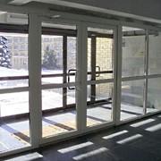 Входные алюминиевые двери фото