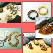 Изделия ювелирные из янтаря