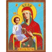 Рисунок-схема Икона Пресвятой Богородицы Троеручица КТК - 3079 фото