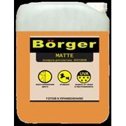 Полироль для пластика матовая Börger MATTE 5л фото