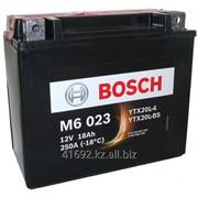 Аккумулятор Bosch M6-023 YTX20L-BS AGM 18Ah фото