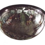 Зеркало купольное для помещений D 800 мм фото