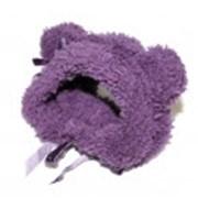 Шапочка фиолетовая фото