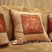 Пошив, изготовление декоративных подушек фото
