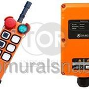 Радиопульт, комплекты промышленного радиоуправления Telecrane тип A21 E1B, 6 кнопок фото