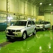Эпоксидные наливные полы в гаражах, паркингах, автосервисах и автомойках фото