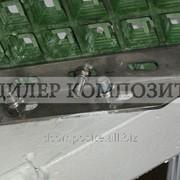 Композитный решетчатый настил открытая ячейка, высота 23 мм, ячейка 38х38 мм, ширина 1220 мм, длина 3660 мм, вес 13,5 кг фото