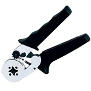 Пресс-клещи для опрессовки одинарных и двойных втулочных наконечников 0,08-6 / 2*0,5-2*4 мм² в наборе с наконечниками фото