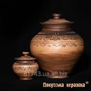 Горщик Шляхтянський 0,75л, розмір 27, арт.AC01 фото