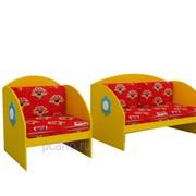 Набор игровой мебели Диван и кресло МИ-03.00-Ф фото