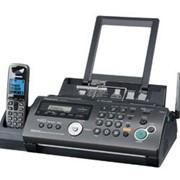KX-FC268RU-T Panasonic факсимильный аппарат на основе термопереноса, Чёрный фотография