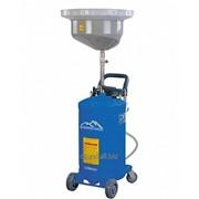 Установка для слива отработанного масла мобильная UZM8081 фото
